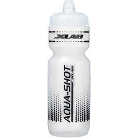 XLAB Aqua Shot Trinkflasche weiß/schwarz